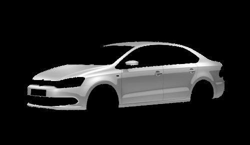 Цвета кузова Polo Sedan